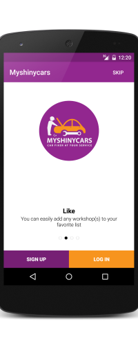 Add your favorite auto mechanic to favorite list